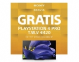 Hifihome - Audiovisual Solutions - Gratis Playstation4 Pro of cashback bij aankoop van Sony Oled tv !